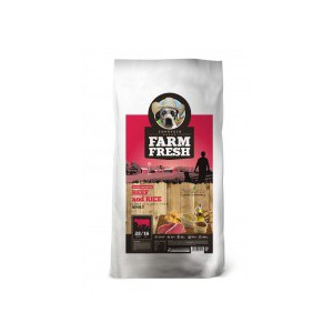 Farm Fresh – Beef & Rice  15 kg