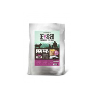 Fish Crunchies for dogs – Senior and Light 15 kg