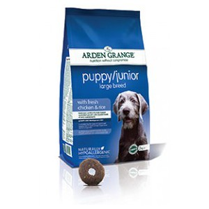 Puppy/Junior Large Breed: with fresh chicken and rice 12kg