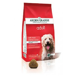 Adult: with fresh chicken & rice 12kg