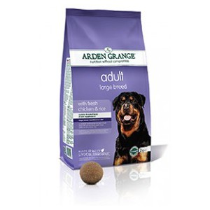 Adult Large Breed: with fresh chicken & rice 12kg